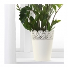 گلدان بزرگ سفید Skurar