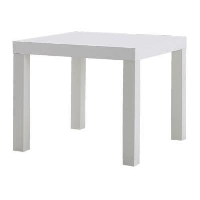 میز عسلی سفید Lack