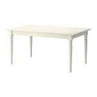 میز سفید کشویی ایکیا INGATORP
