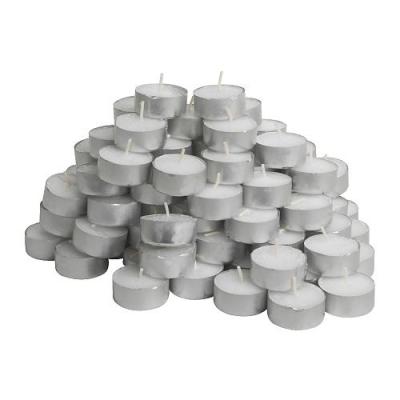شمع 100 تایی وارمر سفید GLIMMA