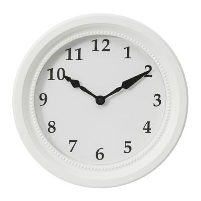 ساعت دیواری سفید SONDRUM
