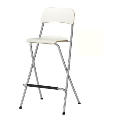 صندلی بار سفید  FRANKLIN