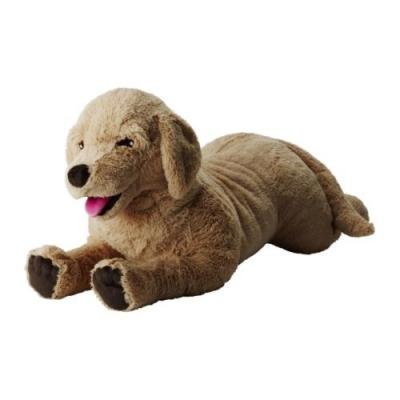 عروسک سگ بزرگ کرم GOSIG GOLDEN