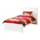 تخت خواب یکنفره سفید MALM