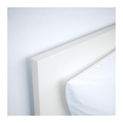 Malm - Tete de lit ikea malm blanc ...