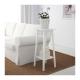 چهارپایه سفید LANTLIV