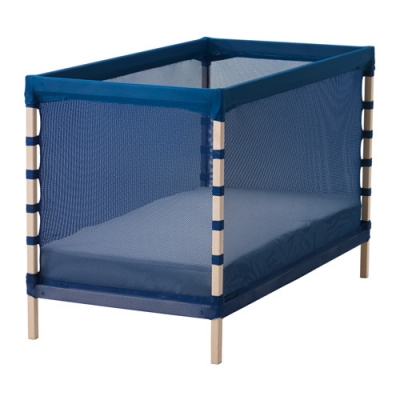 تخت/پارک کودک آبی FLITIG