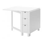 میز سفید ایکیا NORDEN