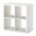 کتابخانه 2x2 سفید ایکیا KALLAX
