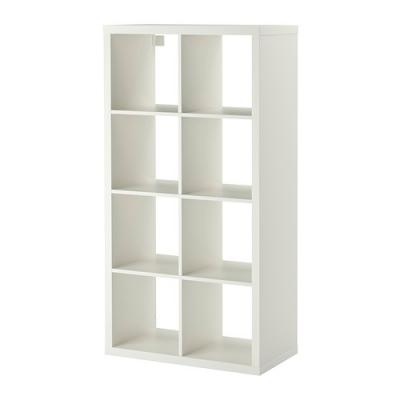 کتابخانه 4x2 سفید ایکیا  KALLAX
