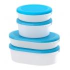 ست 4 تایی ظروف در آبی ایکیا JAMKA