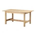 میز ناهارخوری کشویی چوبی ایکیا NORDEN