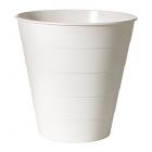 سطل سفید پلاستیکی ایکیا FNISS
