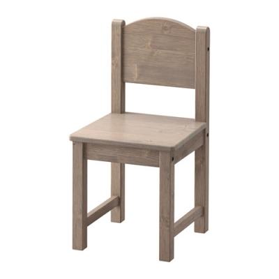 صندلی قهوه ای کودک ایکیا SUNDVIK