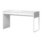 میز تحریر سفید 142x50 کشو دار ایکیا MICKE