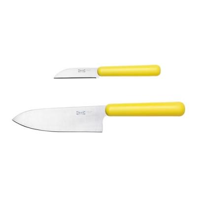 ست دوتایی چاقو زرد ایکیا FORDUBBLA