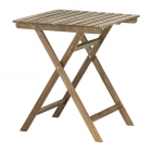 میز چوبی مربع تاشو ایکیا مدل ASKHOLMEN
