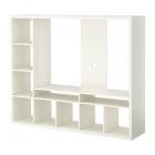 میز تلویزیون با طبقهبندی سفید ایکیا LAPPLAND