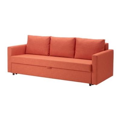 کاناپه تخت خوابشو نارنجی FRIHETEN