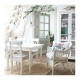 میز سفید کشویی INGATORP
