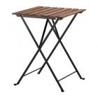 میز تاشو چوبی و فلزی ایکیا TARNO