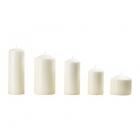 شمع سفید ایکیا FENOMEN