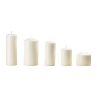 شمع سفید FENOMEN
