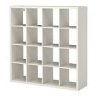 کتابخانه چوبی سفید 4x4 ایکیا KALLAX
