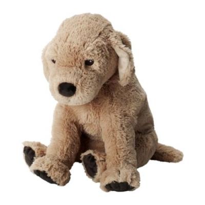عروسک سگ کوچک کرم GOSIG GOLDEN