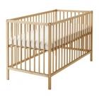تخت چوبی حفاظ دار خودرنگ ایکیا SNIGLAR