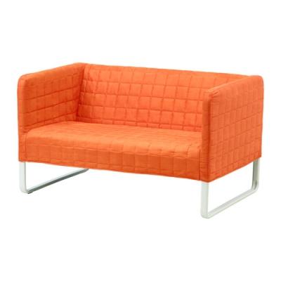 کاناپه دو نفره نارنجی ایکیا KNOPPARP