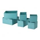 باکس 6 تایی آبی ایکیا SKUBB
