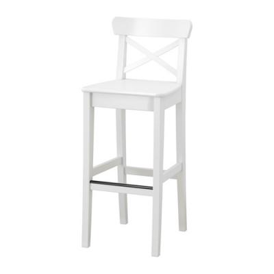 صندلی 63سانت بار سفید ایکیا INGOLF