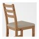صندلی گردویی ایکیا LERHAMN