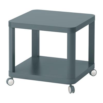 میز عسلی چرخ دار آبی ایکیا TINGBY