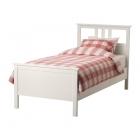 تخت سفید بدون کفی یک نفره ایکیا HEMNES