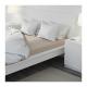 تخت سفید بدون کفی و کشو  160 ایکیا MALM