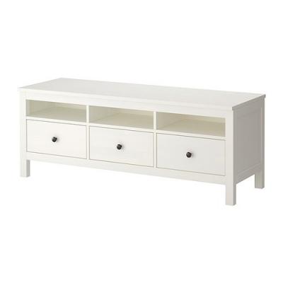 میز تلویزیون سفید ایکیا HEMNES