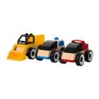 ست سه تایی ماشین چوبی ایکیا LILLABO