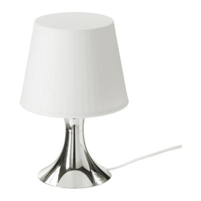 آباژور نقره ای ایکیا LAMPAN