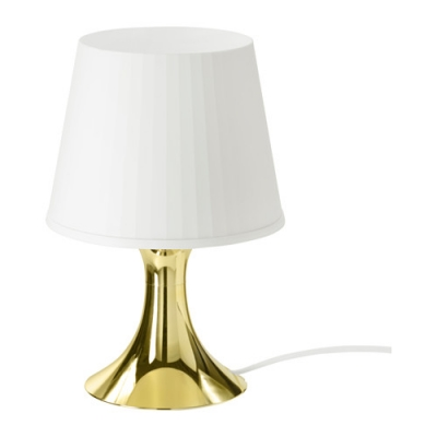 آباژور طلایی ایکیا LAMPAN