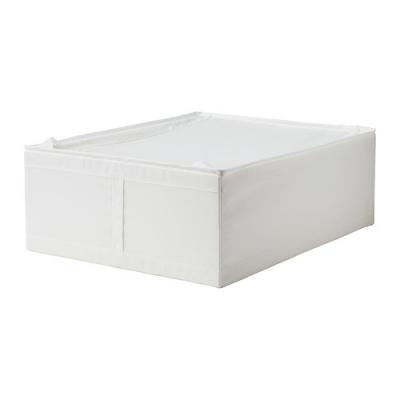 باکس سفید زیپ دار 44x55x19 ایکیا SKUBB