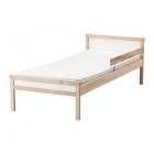 تخت چوبی 70x160 نوجوان با کفی ایکیا SNIGLAR