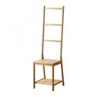 صندلی چوبی آويز حوله حمام ايكيا RAGRUND