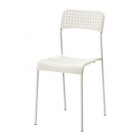 صندلی پلاستیکی سفید ایکیا ADDE