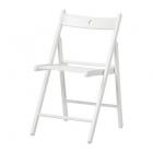 صندلی تاشو چوبی  سفید ایکیا  TERJE