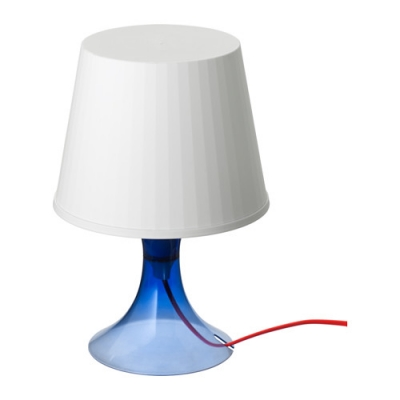 آباژور رومیزی لاجوردی ایکیا LAMPAN