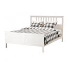 فریم تخت دو نفره  160 سفید ایکیا HEMNES