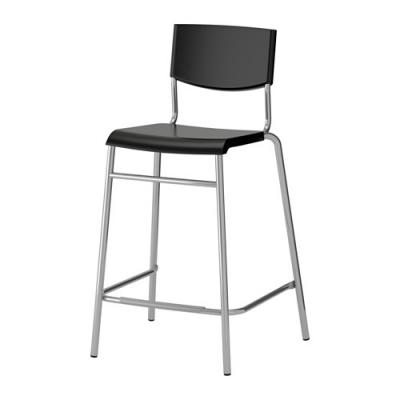 صندلی 63 سانت بار مشکی ایکیا STIG