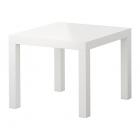 میز عسلی سفید براق ایکیا LACK